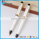 Elegant and beautiful metal gift pen set for lady fashion premium metal roller pen for office lady                                                                         Quality Choice
