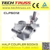 CLP5012 half, pipe, cast iron saddle clamp