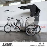 ESTER Pedicab Bicycle Rickshaw for Business or Pleasure with rear motor                                                                         Quality Choice