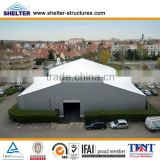 Used Industrial Tents With Solid Wall, Rolling Door, Lighting System