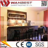 L Shaped Home Bar Counter Counter TopFor Sale