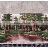 China wholesale canvas tapestry fabric oil painting wall hanger
