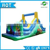 2016 Outdoor Toys! Happy Sky inflatable obstacle course, adult inflatable obstacle course, inflatable obstacle toy