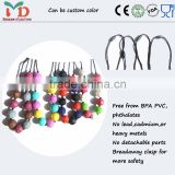 Bead Landing Wholesale/ 2014 Hot Design Silicone Bead Landing Wholesale Silicone Necklace