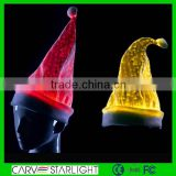 led lighted hat/ christmas decorative hat for children/ luminous led christmas hats for kids