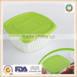 950ml PP Disposable Plastic Single Food Storage Container /Bento Box SGS/FDA Appoval Microwave Oven Safe