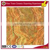 Red jade marble floor tiles