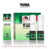 Professional bald head wig with hair ,yuda hair loss spray cure baldness