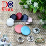 China OEM High Quality Jean Metal Copper Spray Button Ring Snap Fastener for Jacket and Coat