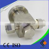 China Manufacture All Stainless Steel High Sealing Performance SF6 gas charging valve