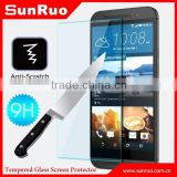 Ultra slim Shatter proof 9H tempered glass screen protector for HTC ONE M9,for HTC ONE M9 cell phone screen protector