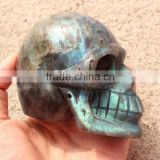 beautiful bling labradorite hand craft crystal skull