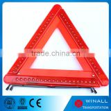 Flashing emergency rechargeable safety kits automotive accessories led emergency triangle