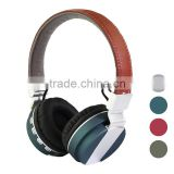 Cell phone accessory colorful folding stereo head phone wireless bluetooth headphone for samrte phone