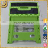 Plastic Folding Fishing Foot Step Stool, Wholesale Child Plastic Folding Fishing Foot Step Stool