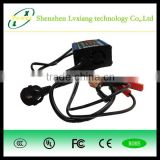 14122905 good quality best service 12v 4a car battery charger adapter /charger plate with CE FCC ROHS