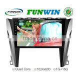 Funwin Android 4.4.2 car stereo 2 din dvd gps player for toyota camry 2015 radio gps tv tuner