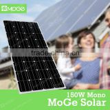 Moge solar panel 150w 200w 250w cover low iron tempered glass thickness