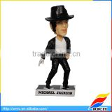 Michael Jackson bobbles in head doll bobble head characters