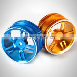 1/10 rc hobby parts rc car aluminum alloy wheel rim on-road