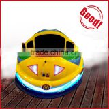 Professional factory manufacture fiberglass body case inflatable bumper car/electric bumper car with fancy seat covers