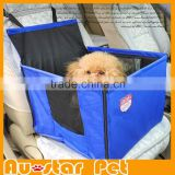 High Quality Unique Car Pet Dog Guard, Navy Blue Dog Car Seat Carrier, Small Pet Outdoor Products