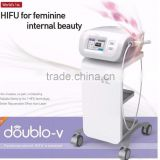 2016 new version high intensity focus ultrasound vagina tighten used beauty salon equipment for sale
