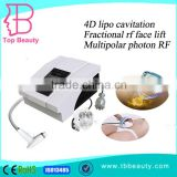 Ultrasonic Contour 3 In 1 Slimming Device 2016 Newest 4d Cavi Lipo Cavitation &3d Body Shaping Rf Slimming Machine Multipolar RF Cavitaion Machine