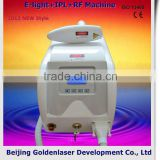 No Pain 2013 New Design Multi-Functional Beauty Equipment E-light+IPL+RF Machine Birthmark And Black Nevus Removal Permanent
