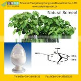 100% Natural Borneol from GMP Certified Manufacturer