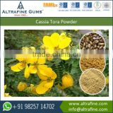 Hot water Soluble Cassia Tora Split as Thickening Agent