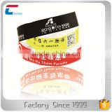 NFC chip 13.56 MHz Passive waterproof disposable rfid nfc bracelet wristband for children