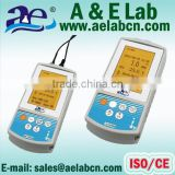 handheld portable ph meter & ec meter