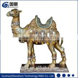 Decorative brass camel ornaments figurines