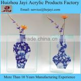 Factory wholesale acrylic different types of flower vase shapes