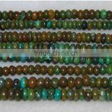7x4mm abacus natural turquoise beads