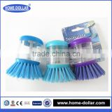 Functional detergent holding kitchen dish brush/dish washing brushes/liquid cleaning brush