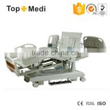 TOPMEDI Luxury 8 functions ICU electric hospital bed with CPR & ACP
