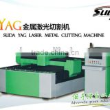 SUDA YAG laser cutting machine for CUTTING METAL with power laser tube