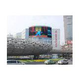 P20 2R1G1B IP65 9500K Aluminum or Iron Full Color Video Curved Led Display Screen