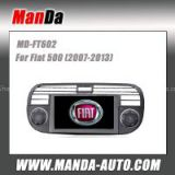Manda 2 din oem car radio for Fiat 500 (2007-2013) in-dash head unit touch screen dvd gps autoradio