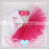 2015 baby girls cotton romper baby birthday clothing ,christmas outfits