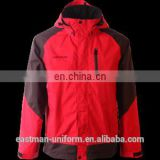 winter hardshell waterproof jackets/ seam taped coat jackets /hiking jackets for camping