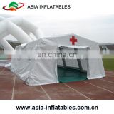 Cheap portable inflatable emergency medical tent / Mobile first aid inflatable emergency tent for refugee
