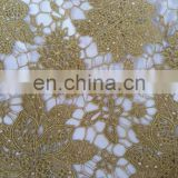 African Lace Embroidery, Chemical Embroidery, ST Yarn Water Soluable Embroidery