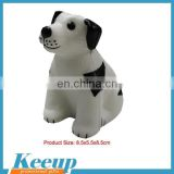 Imprinted items promotional dog shaped toy stress balls