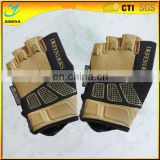 China 2016 Hot Sale Half Finger lycra Racing Gloves