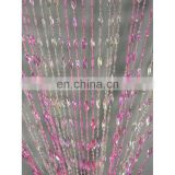 Pendent Swirl Acrylic Beaded Curtains