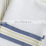 100% cotton yarn dyed strip kitchen towel dish cloth