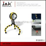 JAK HF2004 CE certificated Flexible Octopus Tripod Stand LED Light